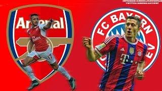 Video Gol Pertandingan FC Bayern Munchen vs Arsenal