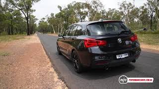 2018 BMW M140i 0-100km/h & engine sound (manual)