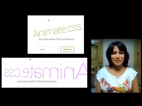Easy Awesome Animations For Website using Animate.css :)