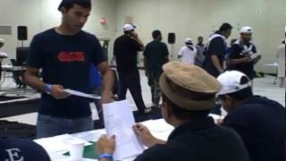 A glimpse at the prelim round of Taleem competitions at MKAUSA Ijtema 2009