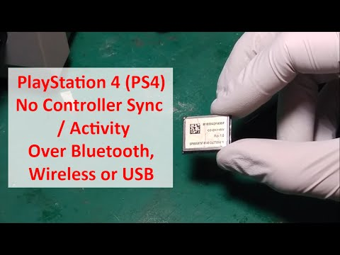 Playstation Ps4 No Controller Sync Activity Over Bluetooth Wireless Or Usb