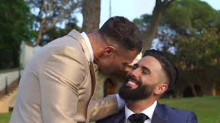 The most romantic gay wedding in the world.