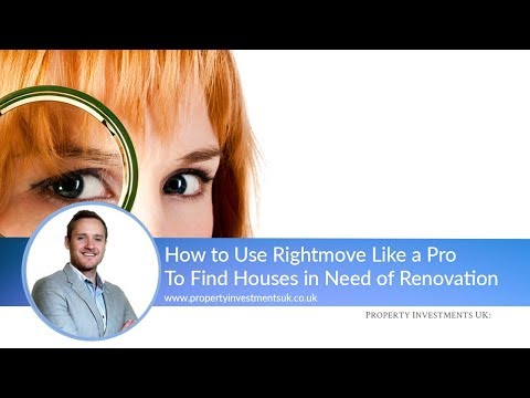 How To Use Rightmove To Find Houses In Need Of Renovation