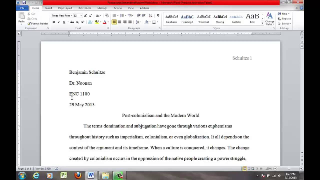 Essay On Microsoft Office Microsoft Office Apa Template Essay On