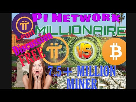 Pi Network Review ! Legit ? How to be a millionaire in Crypto currency