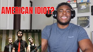FIRST TIME HEARING Green Day - American Idiot [Official Music Video] REACTION