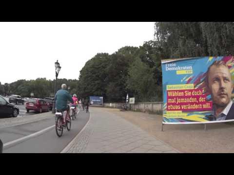Berlin auf dem Fahrrad #1: Brandenburger Tor, Siegessäule, Alexanderplatz, Zoo