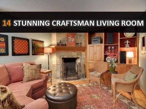 14 Stunning Craftsman Living Room and Family Room Design Ideas - DecoNatic