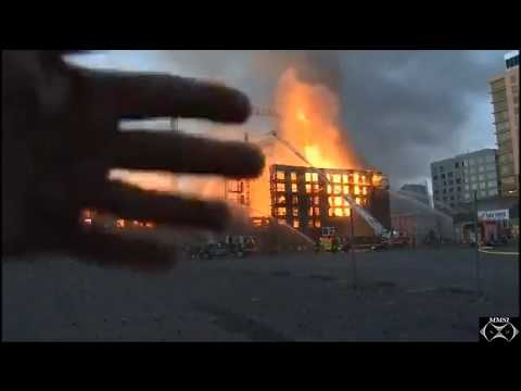 Oakland, California 4-Alarm Structure Fire July 7, 2017