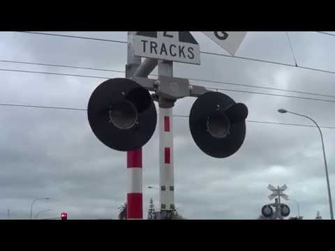Paraparaumu Level Crossing - Different View