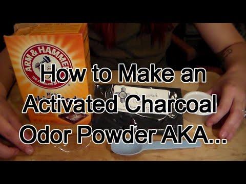 How To Make Odor Eliminator Powder AKA Stinky Powder