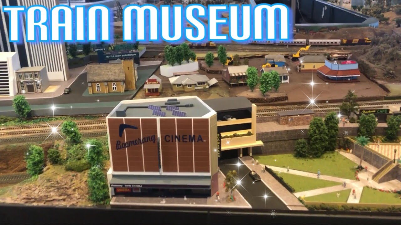 The Workshops Rail Museum visiting! Fun video for kids!