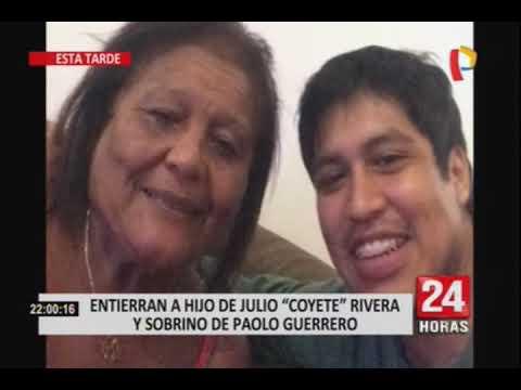 Así fue el entierro del hijo del Coyote Rivera