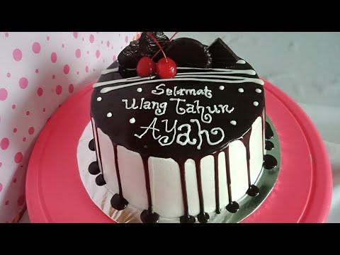 Resep Kue Cake Coklat Ulang Tahun Bisabo Channel 2020