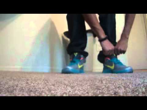 timeless design 7a1e2 a6e21 Nike Zoom Kobe VI 6 Rice On Feet and Glass Blue On Feet Also!!!!!!!! -  YouTube