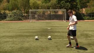 How To Pass A Soccer Ball - Soccer Passing Techniques To Pass Harder