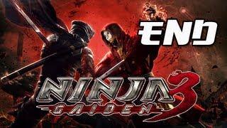 Ninja Gaiden 3 Walkthrough - Part 29 Series Finale Boss Canna Ending PS3 XBOX Let