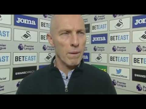 Bob Bradley's Last Interview As A Swansea City Manager After 1- 4 West Ham Defeat