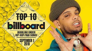 Baixar Top 10 • US Bubbling Under Hip-Hop/R&B Songs • September 1, 2018 | Billboard-Charts