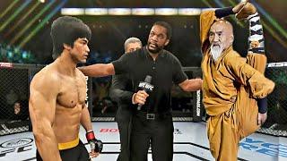 PS5   Bruce Lee vs. King Chow (EA Sports UFC 4)