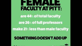 Female Faculty at Pitt: Something doesn't add up