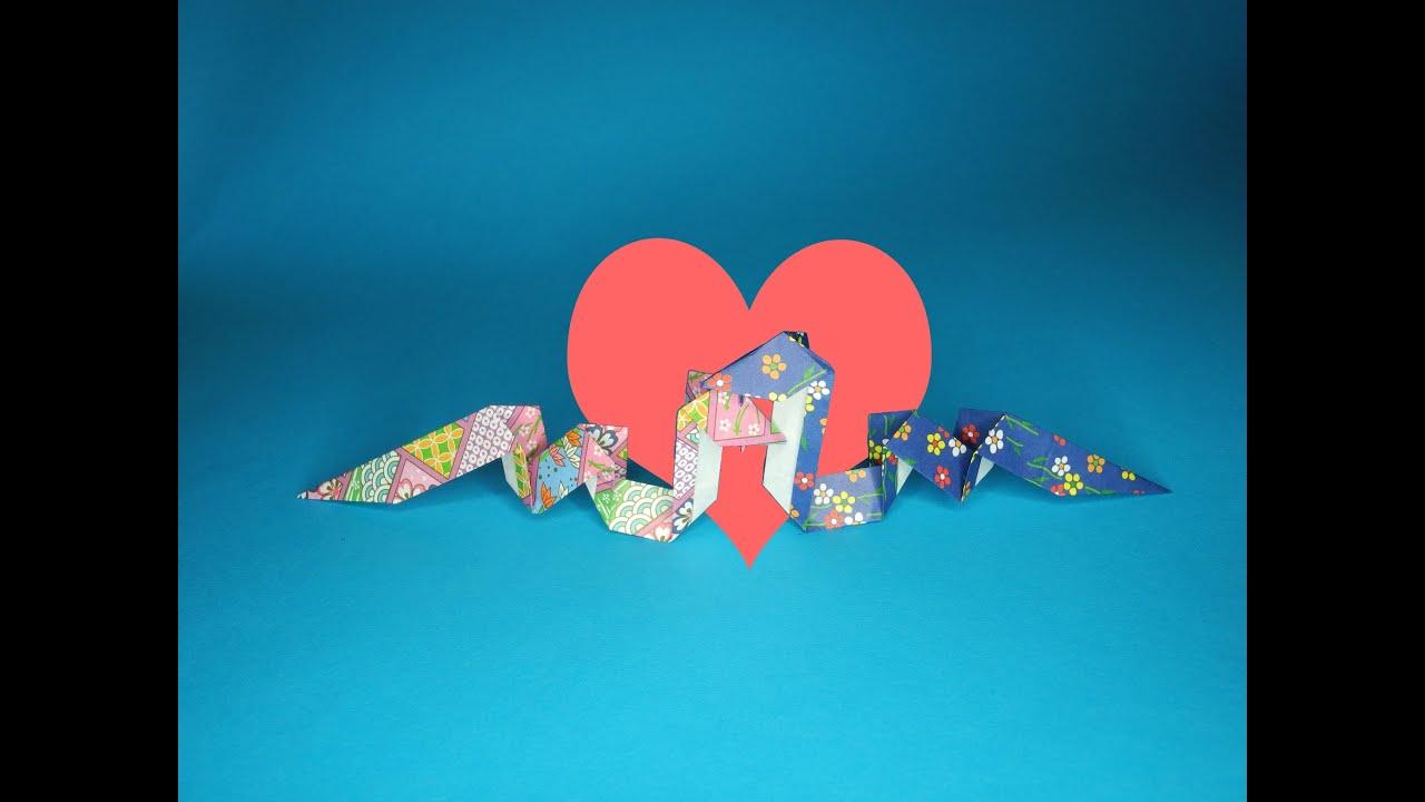 """折り紙シアター『ヘビ』 The origami-theater """"snake"""" - YouTube - photo#33"""