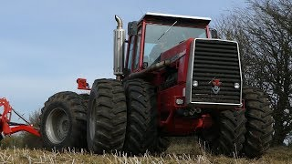 Massey Ferguson 4840 Preparing Seedbed w/ 6-meter Ares AX Disc-Cultivator | DK Agriculture