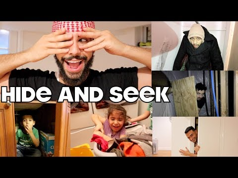 INSANE GAME OF HIDE 'N' SEEK AT THE ADAM'S FAMILY HOUSE!!!