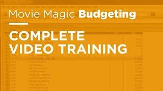 Movie Magic Budgeting - Complete Video Training