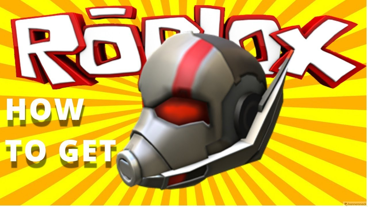 Free Gear How To Get Ant Man Helmet Gear In Roblox Youtube