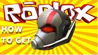 Free Gear How To Get Ant Man Helmet Gear In Roblox From Youtube
