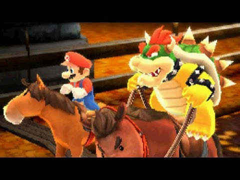 Mario Sports Superstars - All Characters Gameplay (Horse Racing)