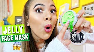 LUSH JELLY FACE MASK...?! Testing weird products.