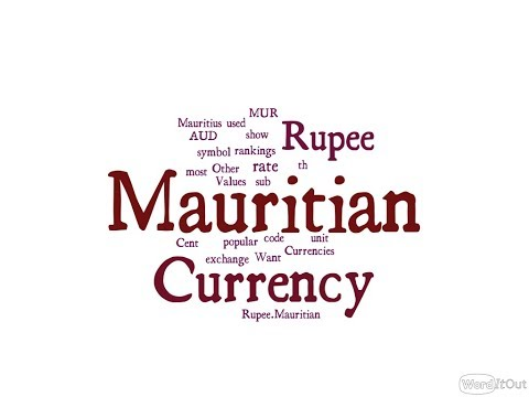 Mauritian Currency - Rupee