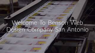 Benson Web Design Company in San Antonio, TX