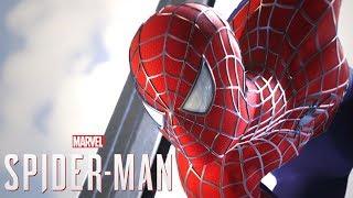 THE END!! FINAL DLC + RAIMI SUIT!!   Spider-Man PS4