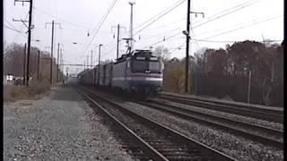 Amtrak Action in Perryville & Havre de Grace, MD - 11/19/99