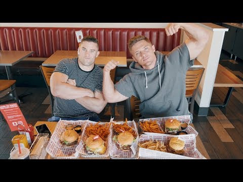 10 Thousand Calorie Challenge | Can You Out Train A Bad diet?