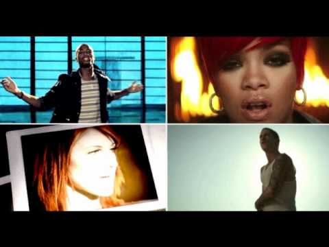 Eminem and Rihanna vs B.O.B. and Hayley Williams - Airplanes Love The Way You Lie Mash-Up