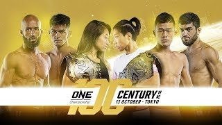 ONE Championship: CENTURY PART I Weigh-Ins & Hydration Test