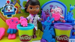Play-Doh Maletín Doctora Juguetes Doc McStuffins Doctor Kit  - Juguetes de Play-Doh