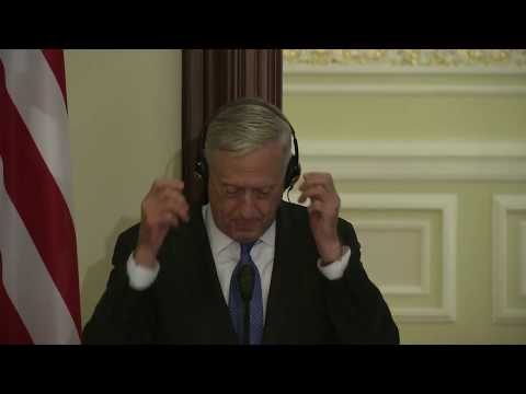 Press Conference of Ukraine President and Secretary Mattis