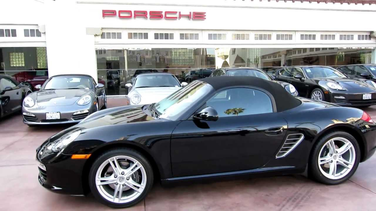 2009 porsche boxster pdk triple black cpo certified pre owned at beverly hills porsche 11 591 miles