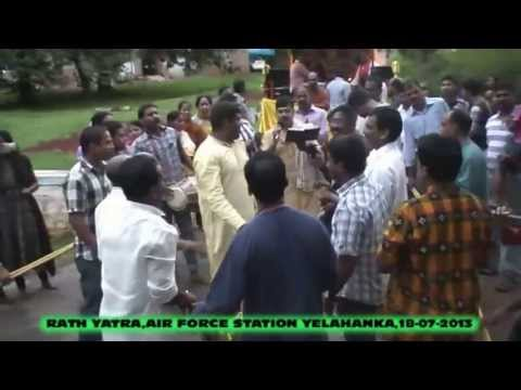 RATH YATRA AT AIR FORCE STATION YELAHANKA ,KARNATAKA,INDIA,ON (10- 07- 2013) AND (18- 07- 2013)