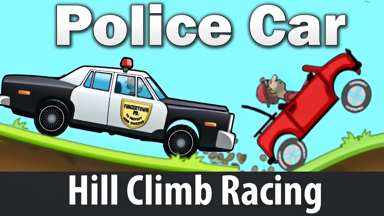 Hill Climb Sars Racing Police Car Youtube