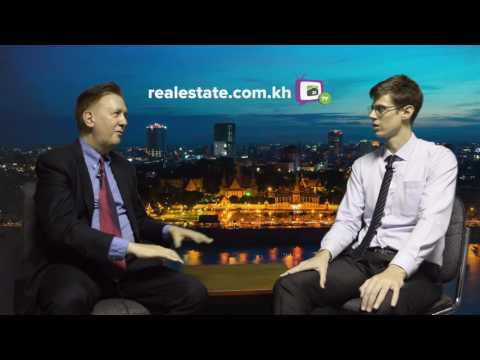 Demand for B and C Grade Office Space in Phnom Penh, with Anthony Galliano on Realestate.com.khTV