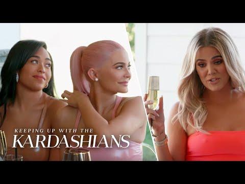 Khloe Kardashian Congratulates Jordyn Woods & Kylie Jenner   KUWTK   E!
