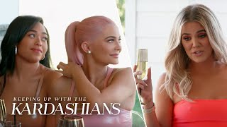 Khloe Kardashian Congratulates Jordyn Woods & Kylie Jenner | KUWTK | E!