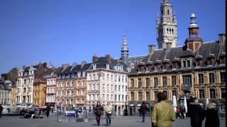 Город Лилль. Франция(Лилль - город на севере Франции. Мы рассказываем про достопримечательности Лилля, вокзалы, метро, музеи,..., 2015-04-17T20:31:53.000Z)