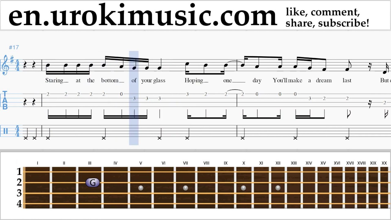 let her go passenger tabs [d c em g am bm e a] chords for passenger | let her go (official video) with capo tuner, play along with guitar, piano & ukulele.